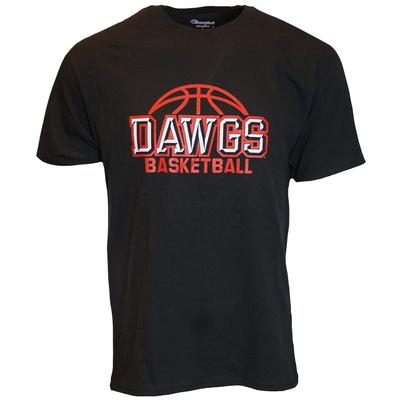 Georgia Champion Dawgs Basketball Tee