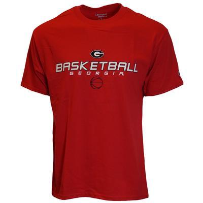 Georgia Champion Basic Basketball Logo Tee