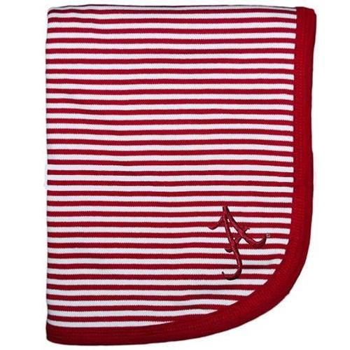 Alabama Infant Striped Knit Blanket