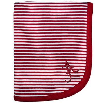Alabama Infant Striped Knit Blanket