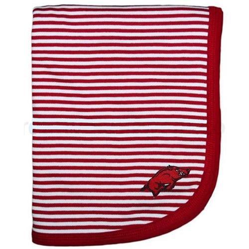 Arkansas Striped Knit Blanket