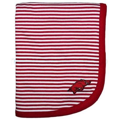 Arkansas Striped Knit Blanket