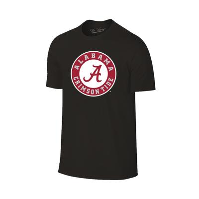 Alabama Giant Circle Logo T-Shirt BLK
