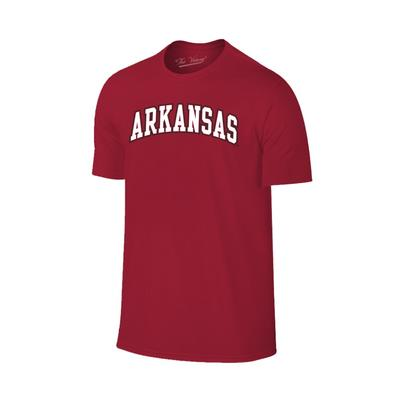 Arkansas Basic Arch Logo T-Shirt CARDINAL