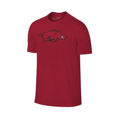 Arkansas Giant Running Hog Logo T-shirt