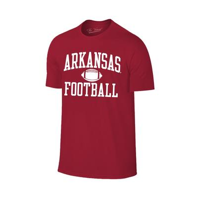Arkansas Basic Arch Football T-shirt