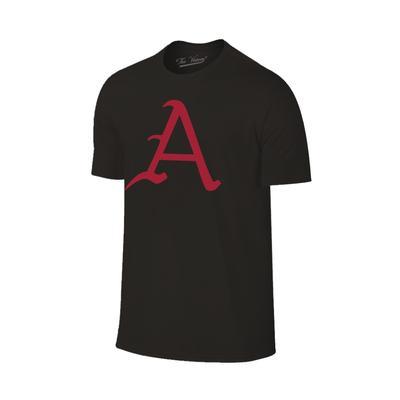 Arkansas Giant A Logo T-Shirt BLK