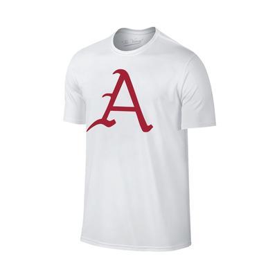 Arkansas Giant A Logo T-Shirt WHT