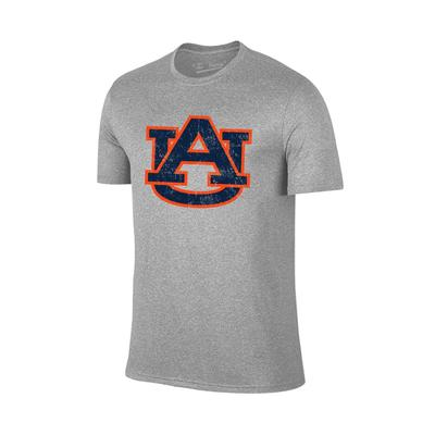 Auburn Giant AU Logo T-shirt GREY