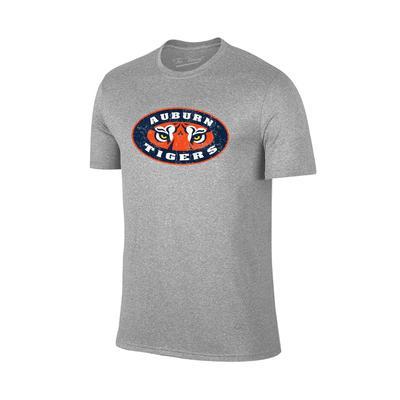 Auburn Giant Tigers Eyes Logo T-shirt GREY