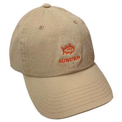 Auburn Southern Tide SkipJack Adjustable Hat KHAKI