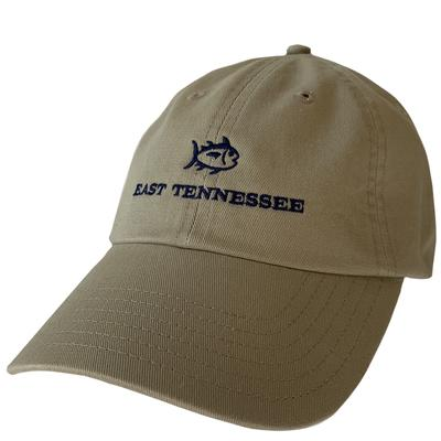 ETSU Southern Tide SkipJack Adjustable Hat KHAKI