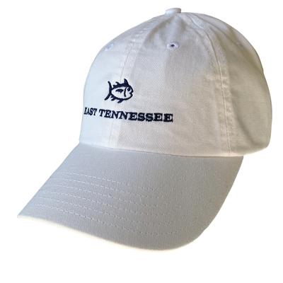 ETSU Southern Tide SkipJack Adjustable Hat WHITE