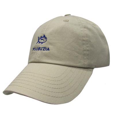 Florida Southern Tide SkipJack Adjustable Hat KHAKI