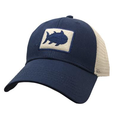 Southern Tide Fly Patch Tracker Hat NAVY/MESH
