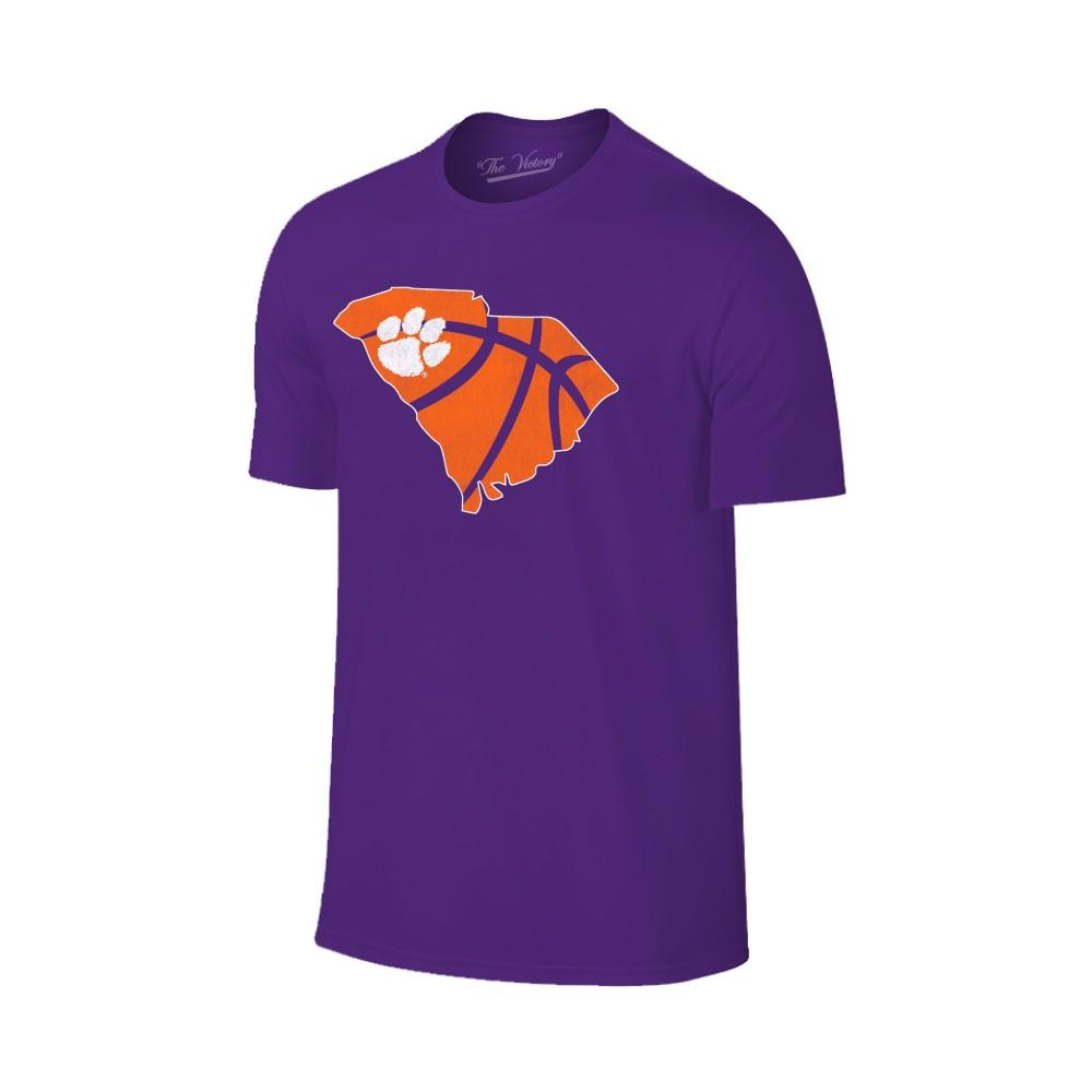 Clemson State Outline Basketball T- Shirt