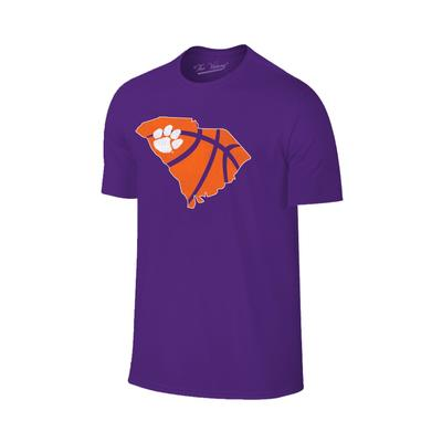 Clemson State Outline Basketball T-shirt