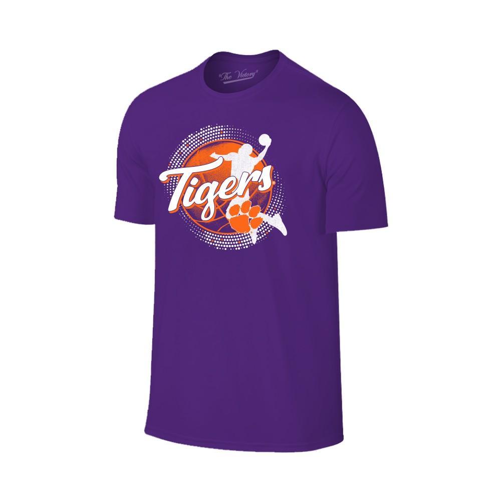 Clemson Basketball Player Icon T- Shirt