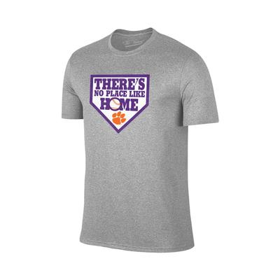 Clemson No Place Like Home Baseball Tee