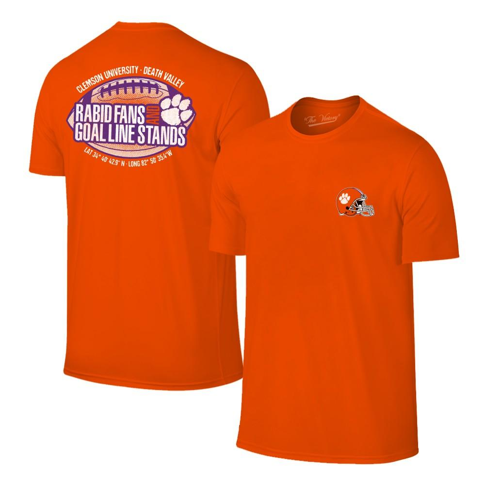 Clemson Rabid Fans And Goal Line Stands Tee
