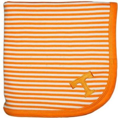 Tennessee Infant Striped Knit Blanket