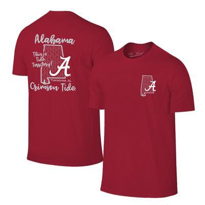 Alabama Women's Tide Territory T-shirt