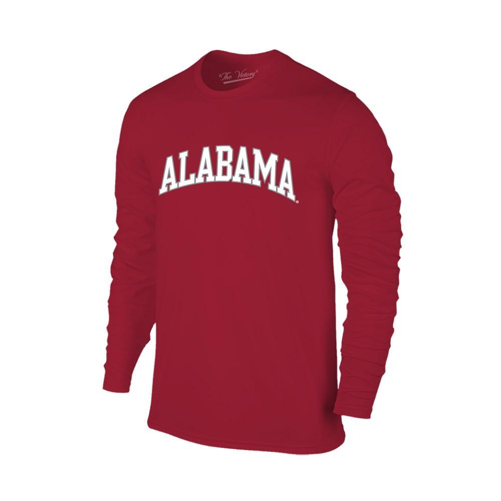Alabama Women's Lined Long Sleeve Basic Arch Tee