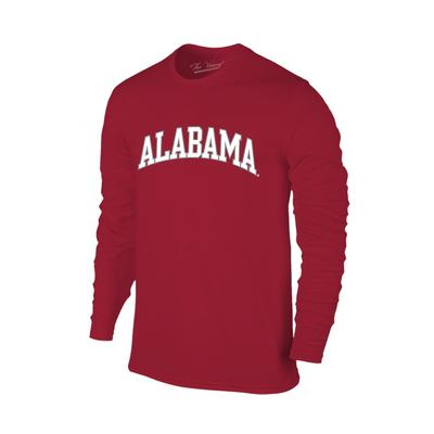 Alabama Women's Lined Long Sleeve Basic Arch Tee