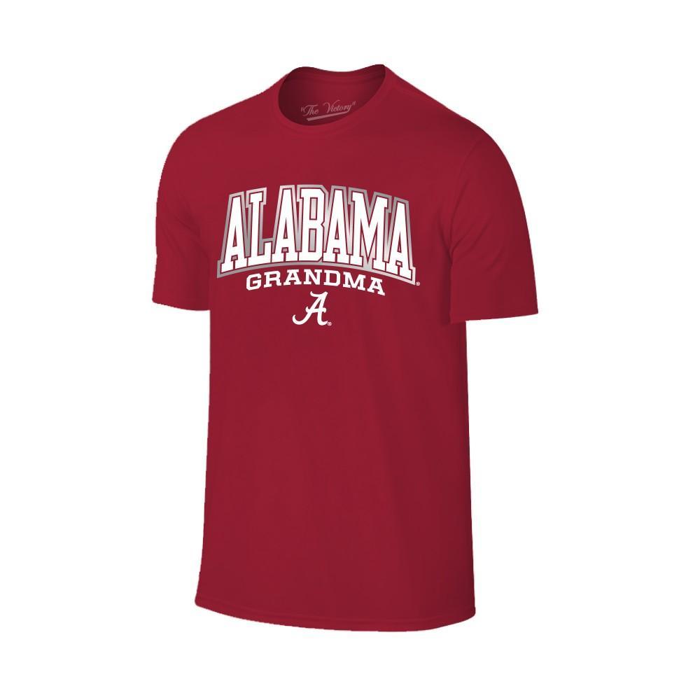 Alabama Women's Lined Arch Grandma T- Shirt