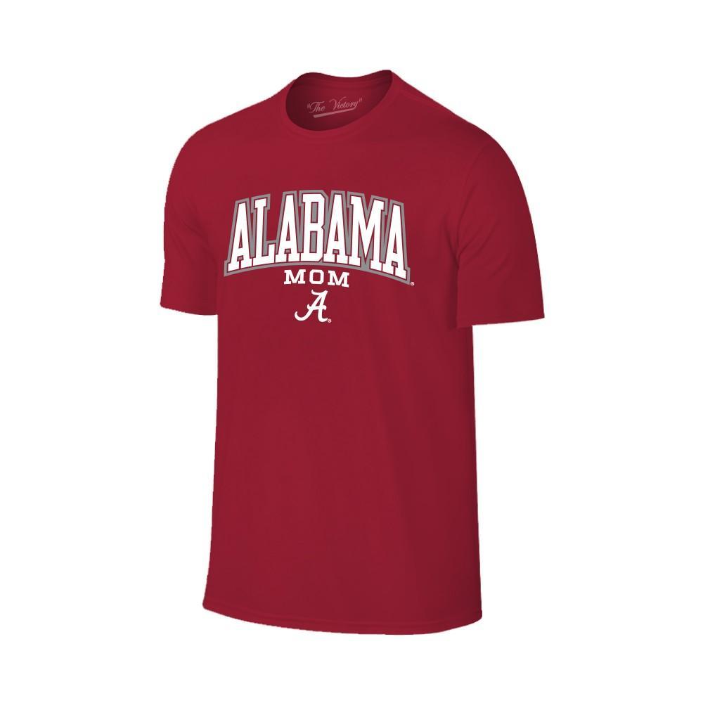 Alabama Women's Lined Arch Mom T- Shirt