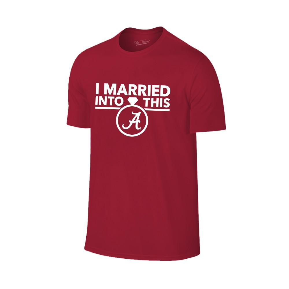 Alabama Women's Married Into This T- Shirt