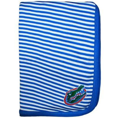 Florida Infant Striped Knit Blanket