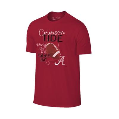 Alabama Women's Party Like It's Game Day Tee