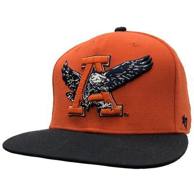 Auburn 47' Vault Logo Flat Brim Cap