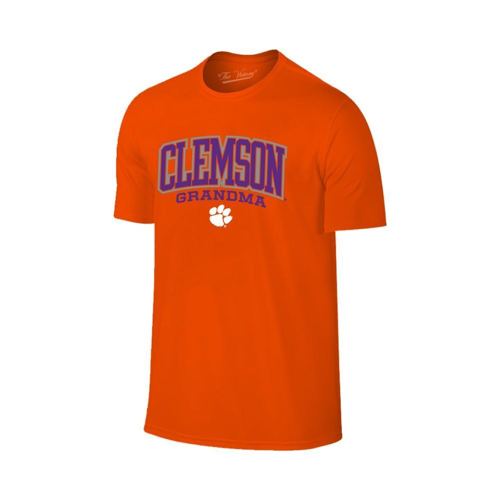 Clemson Women's Lined Arch Grandma T- Shirt