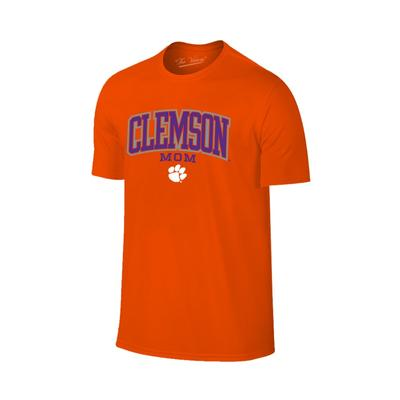 Clemson Women's Lined Arch Mom T-shirt