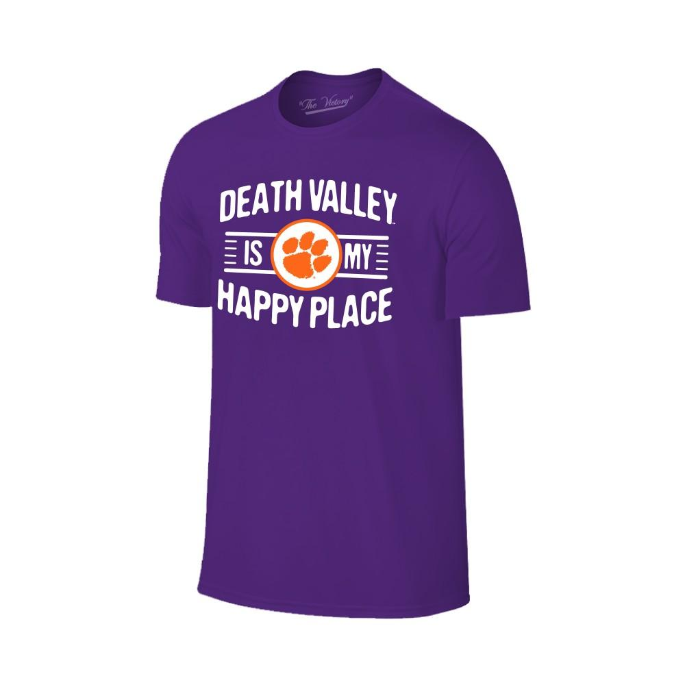 Clemson Women's Death Valley Happy Place T- Shirt