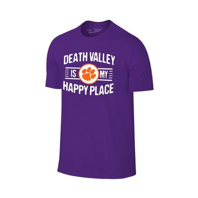 Clemson Women's Death Valley Happy Place T-shirt
