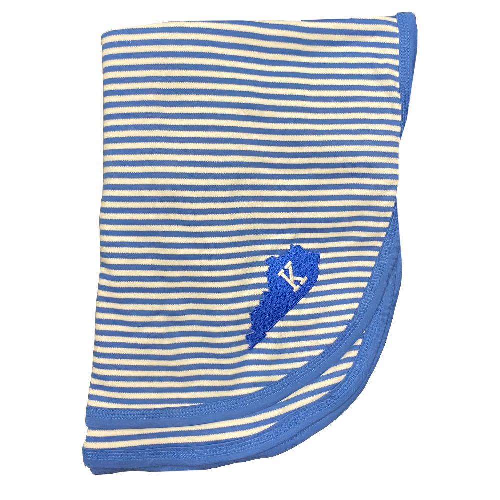 Kentucky Infant Striped Knit Blanket