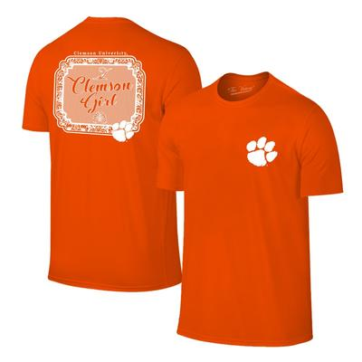 Clemson Women's Framed