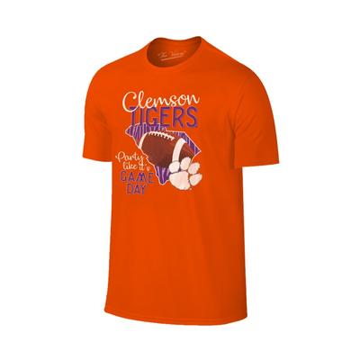 Clemson Women's Party Like It's Game Day Tee