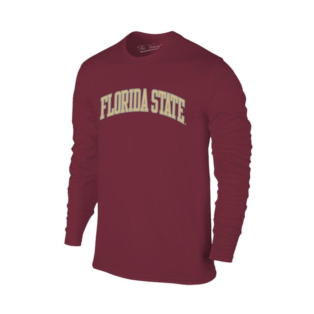 Florida State Women's Lined Long Sleeve Basic Arch Tee