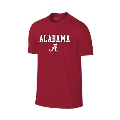 Alabama Youth Straight Logo T-shirt