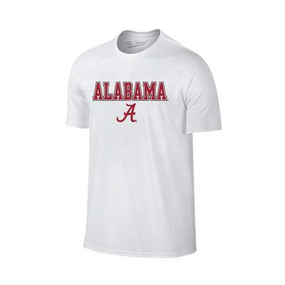 Alabama Youth Straight Logo T-shirt