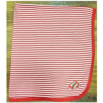 Western Kentucky Infant Striped Knit Blanket