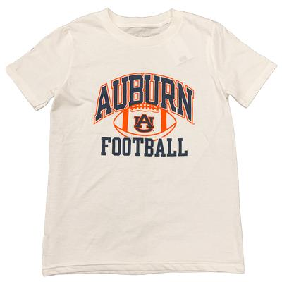 Auburn Youth Arch Logo T-shirt WHITE
