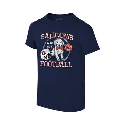 Auburn Youth Saturdays Are For Football Tee