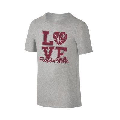 Florida State Youth Love Basketball T-shirt