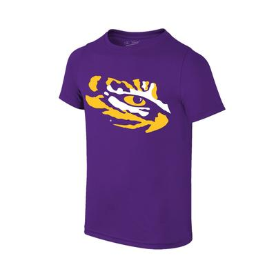 LSU Youth Giant Tiger Eye Logo T-shirt