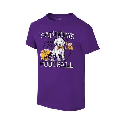 LSU Youth Saturdays Are For Football T-shirt